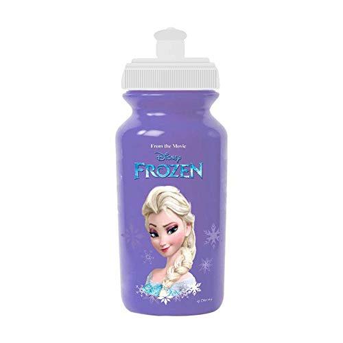 Disney Frozen, Borraccia da Ciclismo Bambina, Viola, 380ml