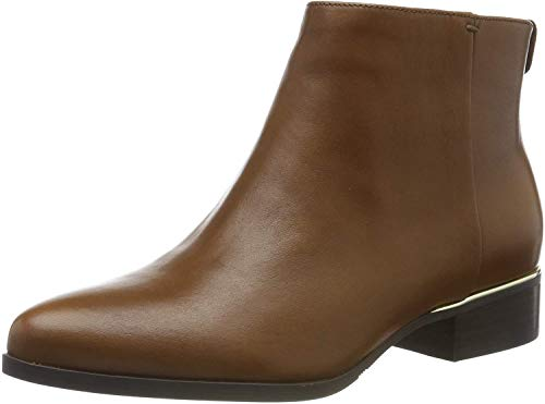 Guess Verneta/Stivaletto (Bootie)/le, Botas Chelsea para Mujer, Marrón (Light Natural Tan), 36 EU