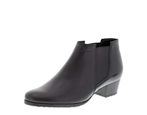 Sioux Fehima, Damen Chelsea Boots, Schwarz (Noir - Noir), 38.5 EU (5.5UK)