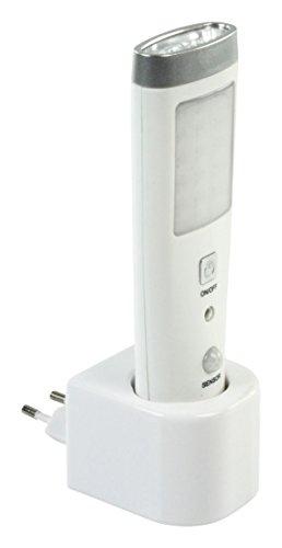 NEDIS Lampe Torche 8+1 LED Rechargeable A DETECTEUR Presence