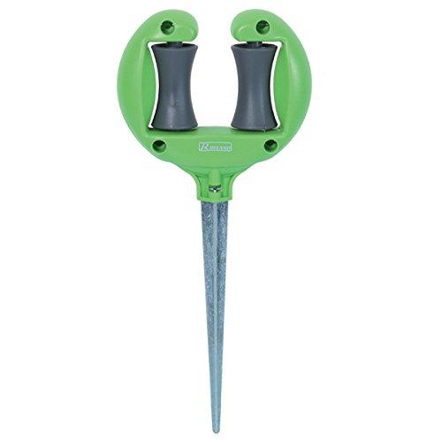 Ribiland 5522 Guide tuyau d'arrosage sur pique Vert