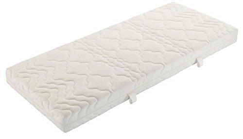 Badenia 3888710159 Bettcomfort Tonnentaschenfederkernmatratze Trendline BT 200 H3, 90 x 200 cm, weiß