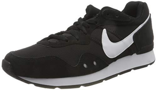 NIKE Venture Runner, Sneaker Hombre, Black White Black, 42 EU