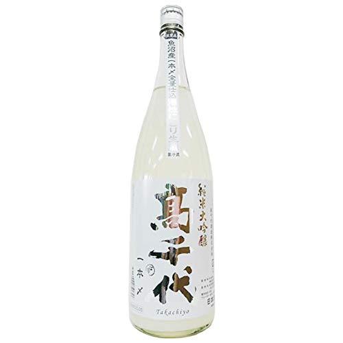 高千代 純米大吟醸 活性にごり 魚沼産一本〆全量仕込み 1800ml