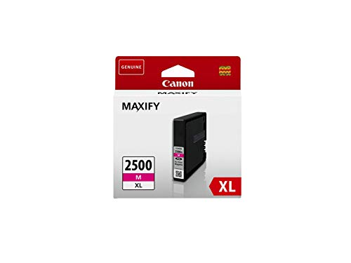 Canon Tintenpatrone PGI-2500 XL M - magenta 19,3 ml ORIGINAL für MAXIFY Drucker