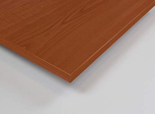MySpiegel.de Tischplatte Holz Zuschnitt nach Maß Beschichtete Holzdekorplatte (50 x 50 cm, Kirsche Acco)