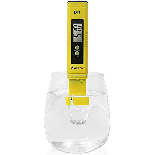KETOTEK Digital PH Meter, PH Meter with ATC, Water PH Test Meter with 0.00-14.00ph Measure...