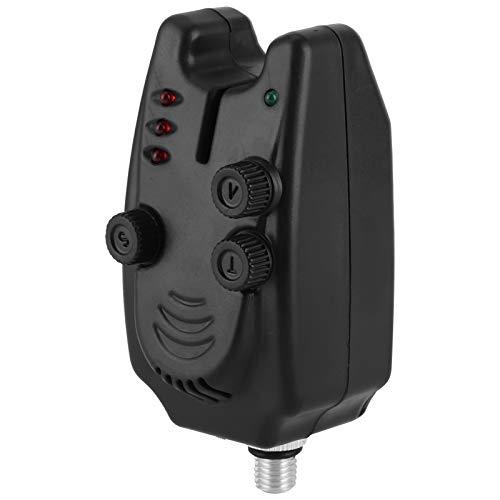 Alarma de picadura de pez, 1155 Alarmas de pesca Alarmas de picadura Luz LED Alarmas de picadura de pesca Alarmas de indicador de picadura de pesca nocturna para soporte de caña de estilo europeo