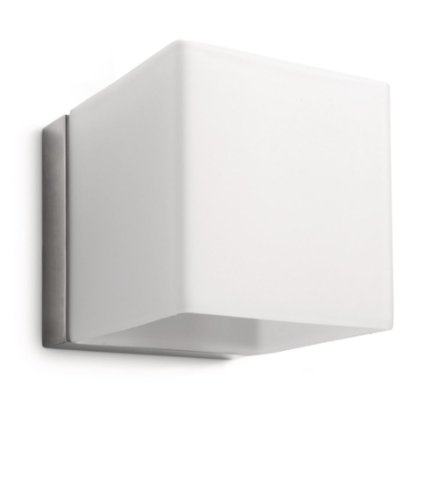 Philips myLiving Wandleuchte, 42 W, weiß, Homroo, matt verchromt, 331781716