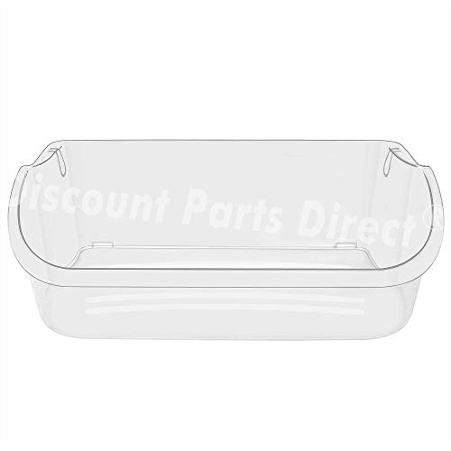 Price comparison product image 240356402 Clear Refrigerator Door Bin Side Shelf For Electrolux and Frigidaire,  Upper Slot Replacement Shelf,  Gallon Size - Replaces AP2549958,  240430312,  240356416,  240356407