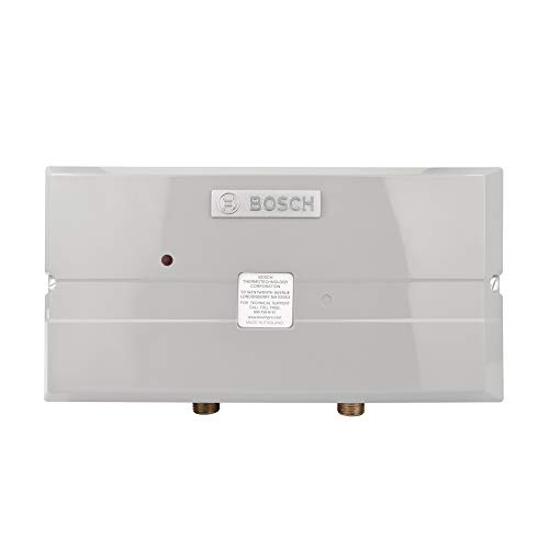 Bosch Electric Tankless Water Heater - Eliminate Time for Hot Water - Easy Installation, 7.2 kW - US7