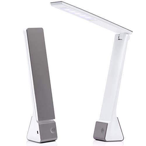 LED Lampada tavolo, AVAWAY lampada USB scrivania lettura lavoro ufficio 4W