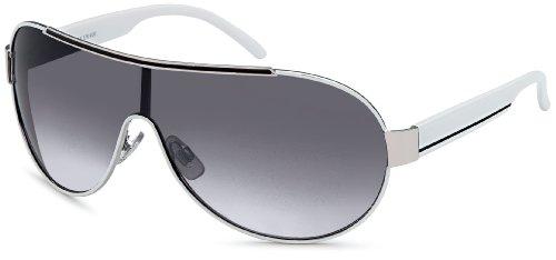 FEINZWIRN Sonnenbrille mit Monoscheibe + Brillenbeutel - Sonnenbrillen Damen unisex