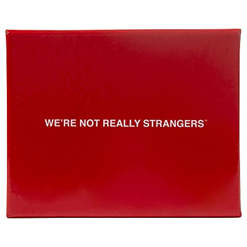 We're Not Really Strangers Juego de cartas