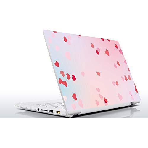 PrettyR - Vinilo adhesivo universal para portátil de 10, 12, 13, 14, 15,4, 15,6 16, 17 y 19', incluye adhesivo para MacBook, ASUS, Acer, HP, Lenovo, Huawei, Dell, MSI, Apple, Toshiba, Compaq Un color 15.4 inch (36x26 cm)
