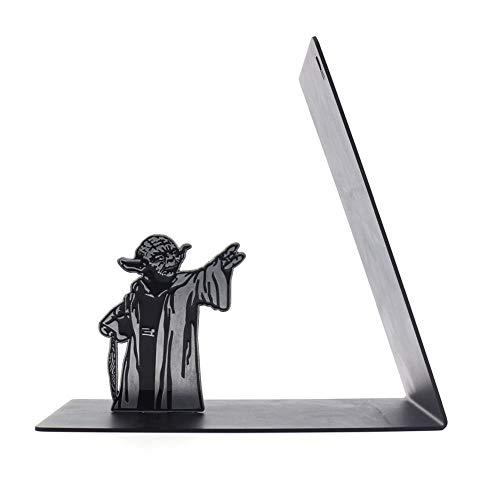 Puzzle Sujetalibros de Yoda, sujetalibros del Maestro de Star Wars, Soportes De Sujetalibros para Oficina Y Hogar, Estantería Yoda Force(Color:Maestro Yoda)