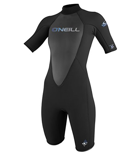O\'Neill Wetsuits Damen Neoprenanzug Reactor 2 mm Spring Wetsuit, Black, 6