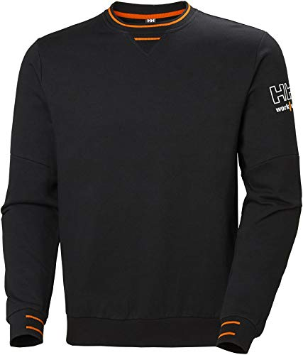 Helly-Hansen Men s Workwear Kensington Sweatershirt, Black - M