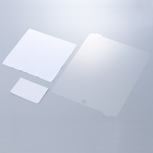 Simplism iPad用保護フィルム グレア TR-PFSIPAD-GL