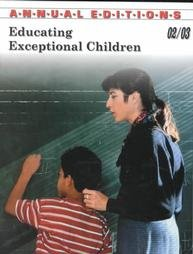 Educating Exceptional Children, 02/03 (Educating Exceptional Children, 14th ed)