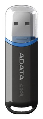 ADATA AC906-16G-RBK USB Flash Memory, 16GB