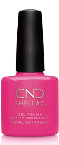 CND Shellac Hot Pop pink, 1er Pack (1 x 7 ml)