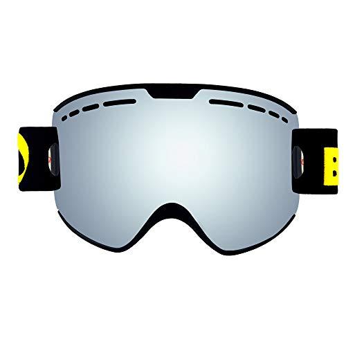 Gafas De Esquí Protección UV Antivaho Gafas De Snowboard De Deportes De...