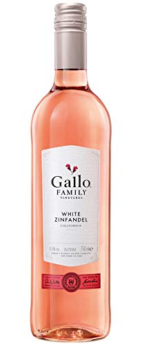 6x 0,75l - 2018er - E. & J. Gallo - Family Vineyards - White Zinfandel - Kalifornien - Rosé-Wein lieblich
