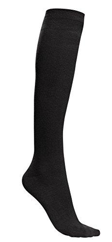 Rambutan Unisex'Pepper Collection' Knee High Seamless Cotton Socks