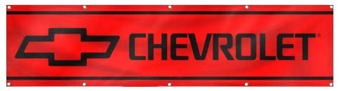 Daoops Chevrolet Flag Chevy Car Truck Racing 2x8Ft Banner