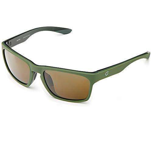 Briko Mistral Color HD Gafas Sol Casual, Unisex Adulto, Matt Green, One
