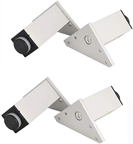 ZJDU Patas para muebles Niture Feet &Times; 4 patas de mesa de altura ajustable para patas de mesa de cama, patas de soporte de TV, patas de soporte de aluminio, 8 cm (color: 35 cm)