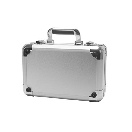 HSKB Aluminium Handtasche Drohne, Tragetasche für SJRC F11 5G WiFi RC Quadcopter Drone Rucksack Wasserdichte Tasche Portable Handtasche Tragekoffer