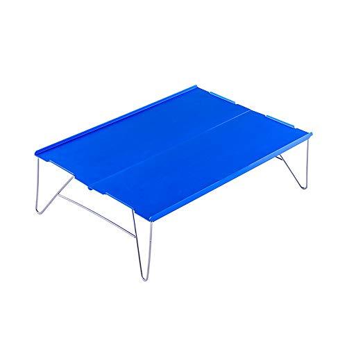 JONJUMP Mesa de picnic al aire libre mini plegable portátil para la playa, camping, pesca, escritorio, senderismo, viajes, escalada, mesa plegable