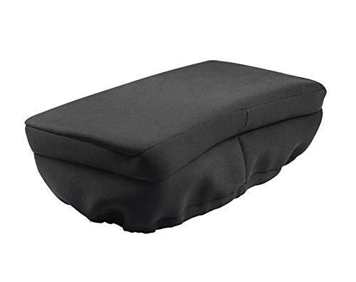 JFJL Universal Knee Walker Pad Bezug - Gepolstertes Memory Foam-Zubehör für Knie-Roller und -Roller - Weiche Polsterung lässt Sich leicht an den meisten Wanderern befestigen (schwarz)