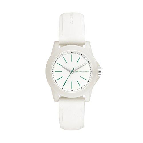 Armani Exchange dames analoog kwarts smartwatch polshorloge met siliconen armband AX4359