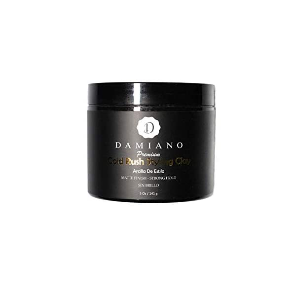 Beauty Shopping Damiano's Premium Gold Rush Styling Clay Pomade. 5oz Matte