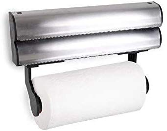Space Home - Dispensador con Cuchilla de Papel de Aluminio, Film y...