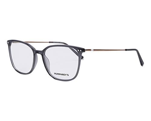 Humphrey's Brille (581084 30) Plastik - Metall grau kristall - roségold
