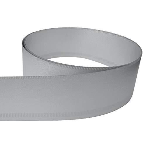 innogard Rasenkantenband Alu-Zink – Höhe 26 cm, Länge 10 m, Rasenkante mit Schutzkante und Verwindungssteife Kante, Profilkante für Beetumrandung
