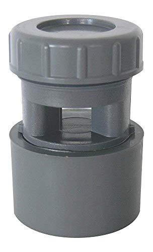 Clapet équilibreur de pression / Aérateur à membrane en PVC 32 / 40 / 50 mm.
