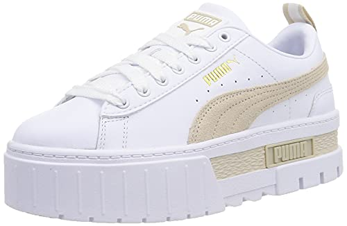 PUMA Damen Mayze LTH WN's Leichtathletik-Schuh, Weiß White Peyote, 38.5 EU