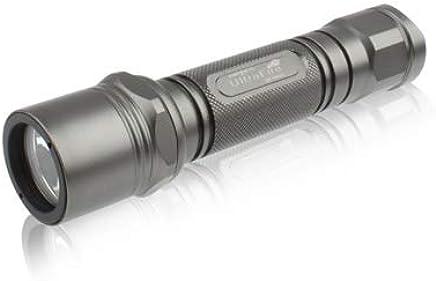 KANEED LED-Taschenlampe, CREE XM-L T6 LED, 5-Modus, weißes Licht (grau) B07Q8RK2Q5     | Das hochwertigste Material