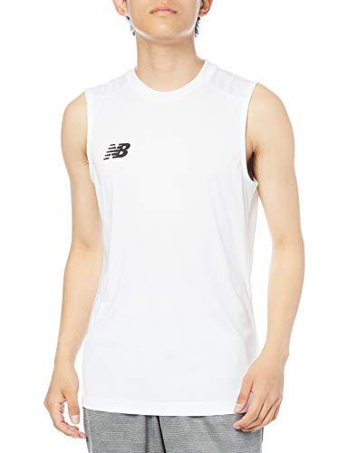 [ニューバランス] タンクトップ ノースリーブアンダーシャツ ホワイト(WT) 日本 L (日本サイズL相当)