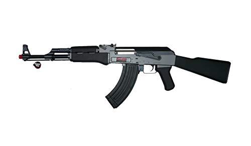 GOLDEN BOW FUCILE SOFTAIR AK47 NERO CALCIO FISSO JG 0506b 0,9 JOULE