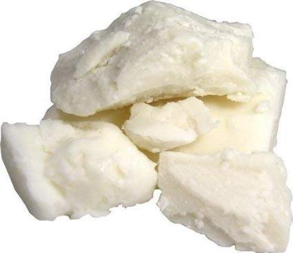 Unrefined Raw Shea Butter - 2 lb - Ivory - Ghana Africa- by Caribbean Coastal Delights