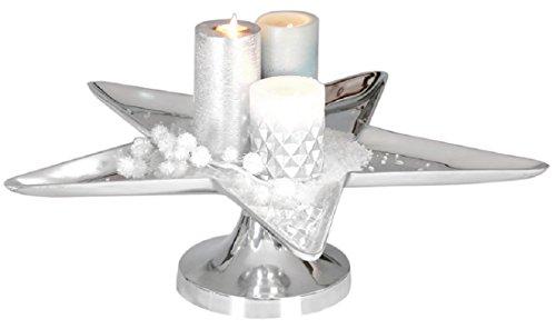 Casablanca Schale Stern Aluminium 55 cm