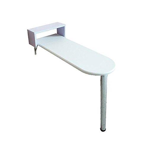 ZXL Wandkastje, woonkamer slaapkamer, eenvoudige hoge tafel, salontafel, keukenstandaard, wijnrek, wit (afmeting: 85 * 60 * 80 cm)