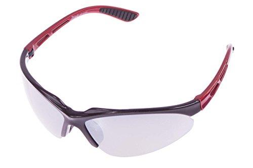 Crivit® sportbril - ultralicht - 100% UV-bescherming + wisselglazen + etui + poetsdoek + brillenkoord