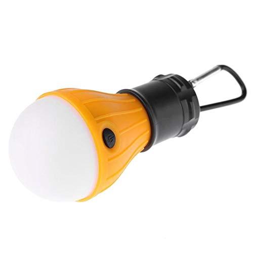 AFGH Zeltlicht Zelt Kronleuchter 3-Modus im Freien SOS Notfall Carabina Glühbirne Lampe Notlampe Licht Wandern Energiesparlampe